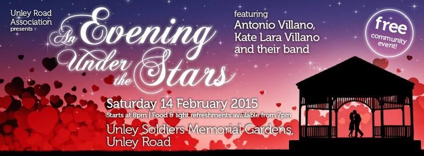 Evening under the stars 2015