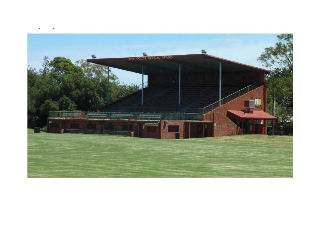 Colin Nelson Grandstand