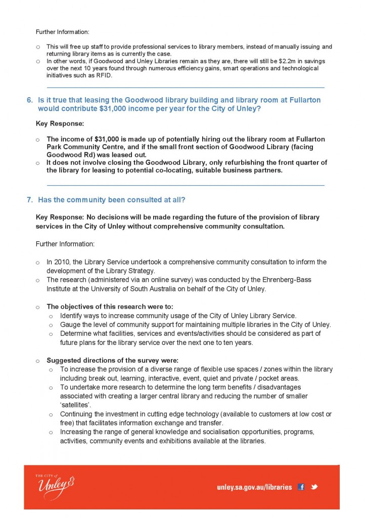 Library Service Review fact sheet3