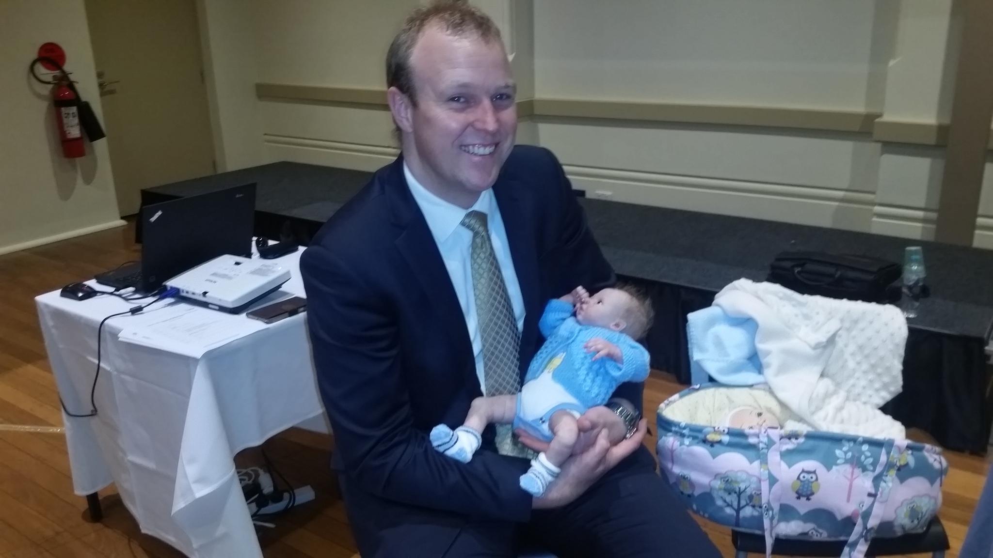 Mayor nursing reborn