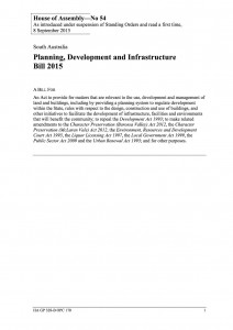 PLANNING AND INFRASTRUCTURE BILL 2015.UN.PDF