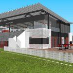 Goodwood Oval Grandstand
