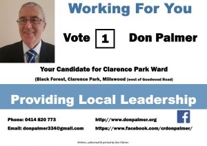 Providing Local Leadership and Working For You