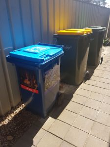 Council waste bins