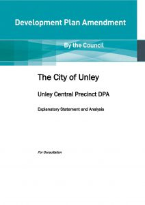 Unley Central DPA draft