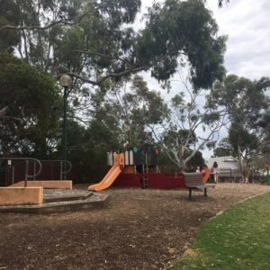 Unley Oval Pirate Ship playground