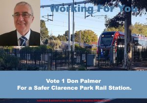 Safer Clarence Park Rail Station