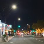 Goodwood Road by night