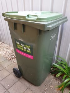 Take the Pledge Green Bin