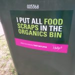 Take the Pledge Bin Sticker